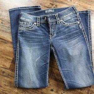 Silver Jeans - Suki Surplus bootcut, size 28/32